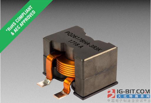Bourns推出符合AEC-Q200的扁平绕线功率电感