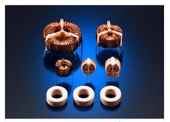 """日立金属推出使用纳米晶软磁材料的共模扼流圈""""FT-3K10Q""""系列"""
