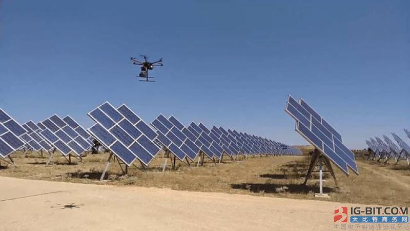 西班牙能源公司研发无人机自动监测太阳能发电系统