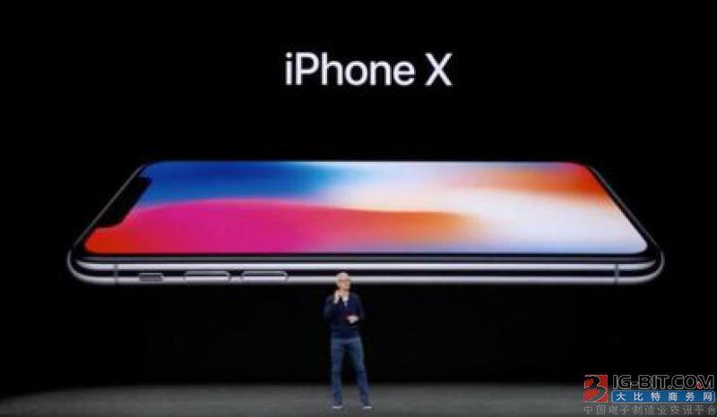 999美元iPhone X 牵动日零组件厂神经