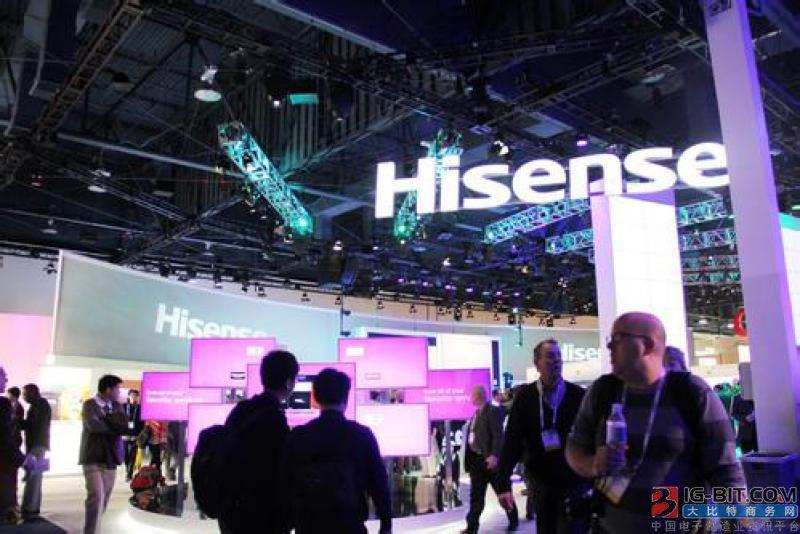 海信7.53亿拿下东芝 可稳居全球电视市场前三位置