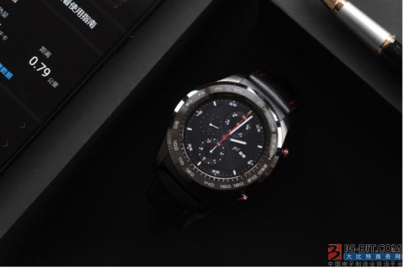 华为再次牵手保时捷推出新款智能手表