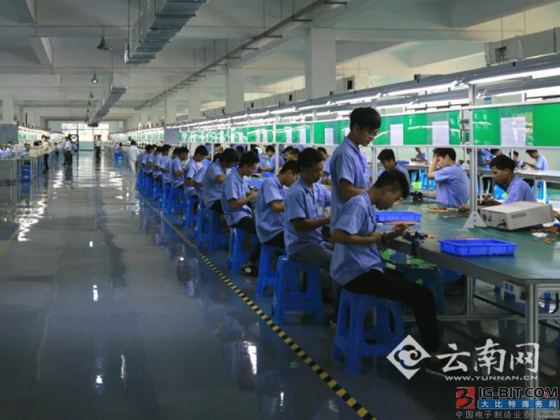 河口跨合区首批8条电感线材生产线建成投产