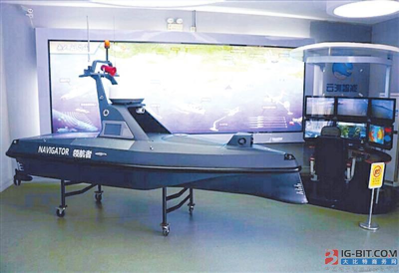 云洲众鑫娱乐官网科技自主创新 领航中国无人船走向