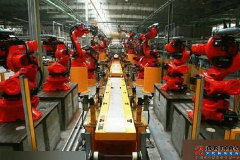 江苏扬力集团打造首条全自动柔性冲压生产线