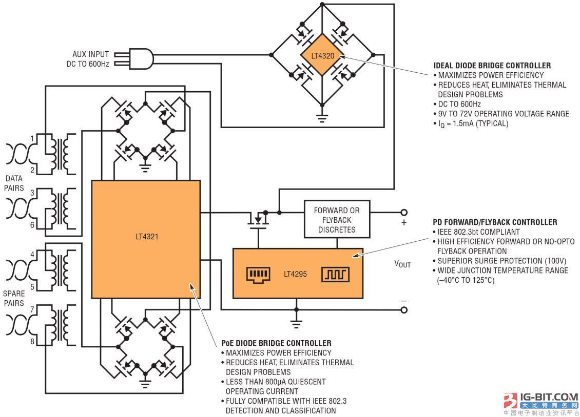 桥式温度控制电路图