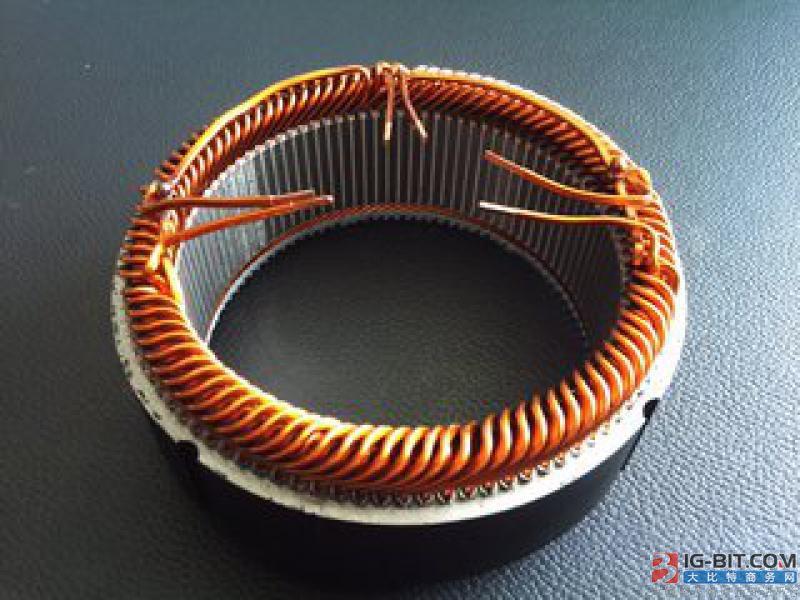 首批再制造节能电机交付使用