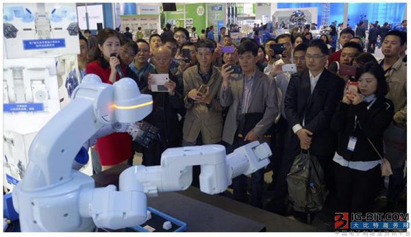 爱普生工业机器人方案展示现场