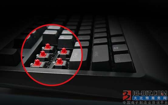 雷霆世纪首推Cherry轴机械键盘