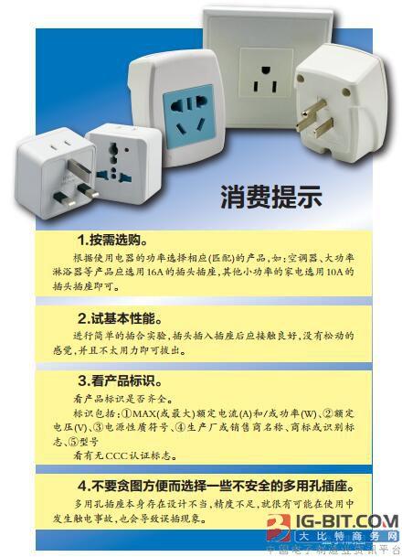 广西四品牌批次移动电源转换器不达标 易引发触电