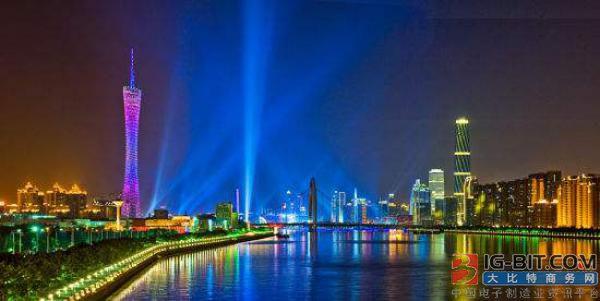昨晚,广州下起了五彩斑斓的灯光雪,LED新型夜经济爆发!