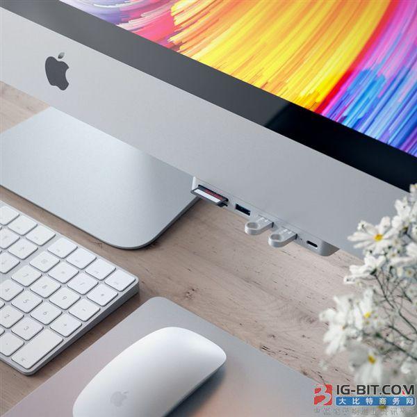苹果Mac电脑接口拓展神器:支持四个USB3.0接口