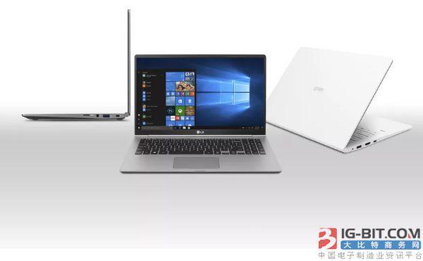 """LG称其新款Gram笔记本电脑支持""""全天""""电池续航时间"""