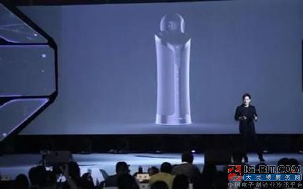 海美迪推出中国智慧家庭领域首个视听机器人