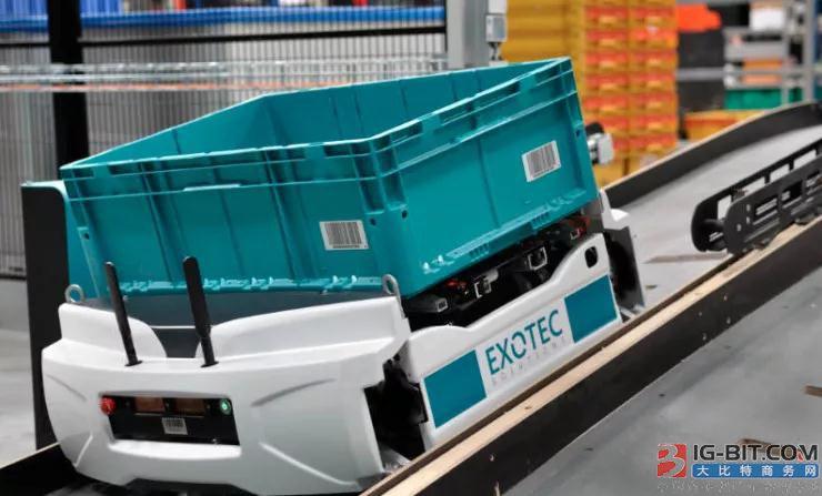 法国机器人Skypod,每小时可以拣选400个产品