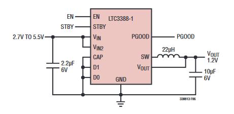 ADI推出用于可穿戴设备的低静态电流IC解决方案