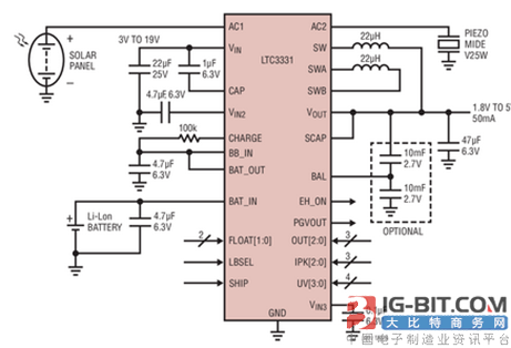 图3:ltc3331 的典型应用电路