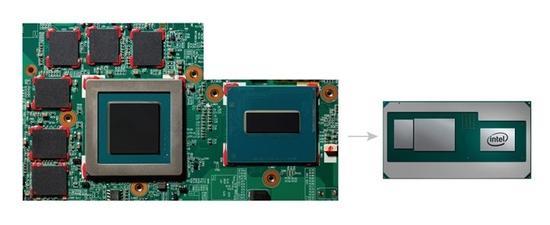 Intel i7-8709G 处理器曝光:与AMD联手打造