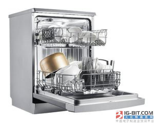 """洗碗机市场直逼百亿 磁件电源企业有望""""分羹"""""""