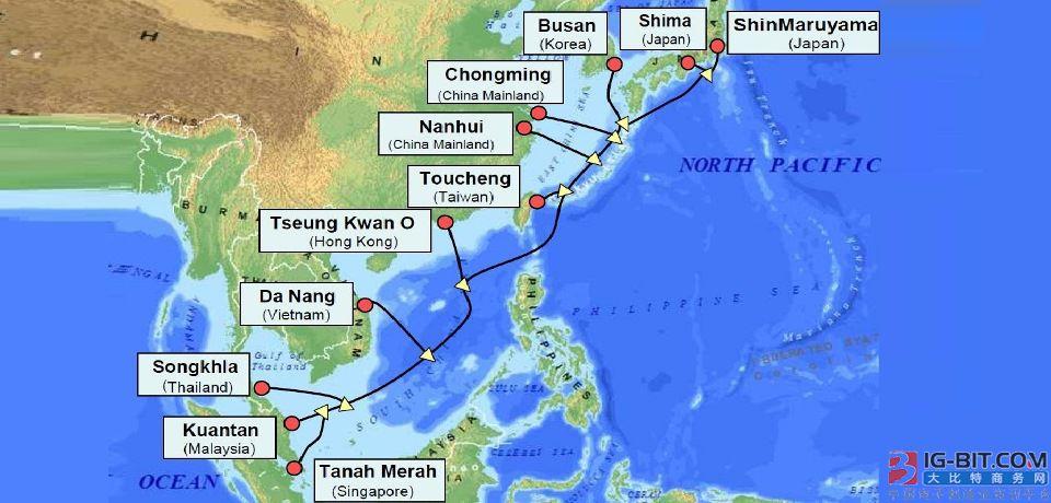 亚太网关APG海底光缆系统将于本周末恢复运营