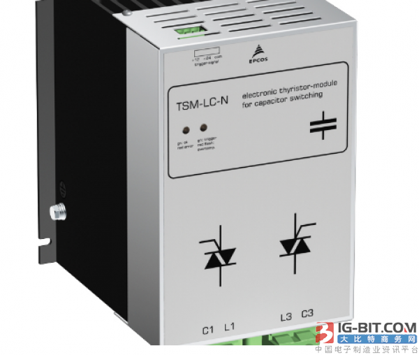 TDK推出新型EPCOS可控硅整流器模块TSM-LC-NC690