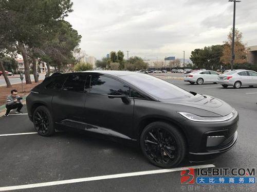 贾跃亭投资的FF美国新车开放试乘:拒谈资金来源