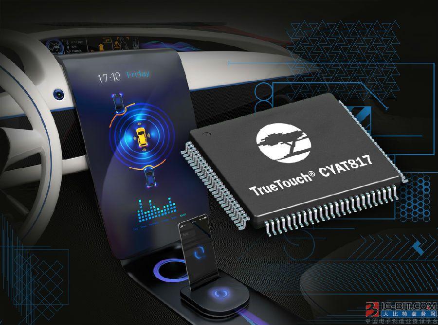 赛普拉斯半导体公司推出新型汽车电容式触摸屏控制器