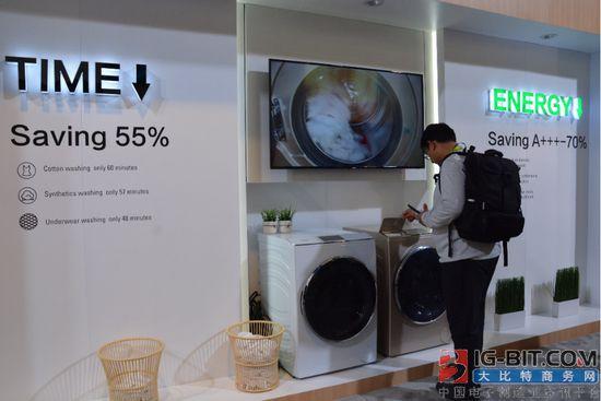 海尔洗衣机带来快直驱科技 提高洗涤效率