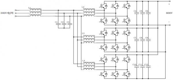 用于大功率光伏逆变器测试的 1MVA 电网模拟源