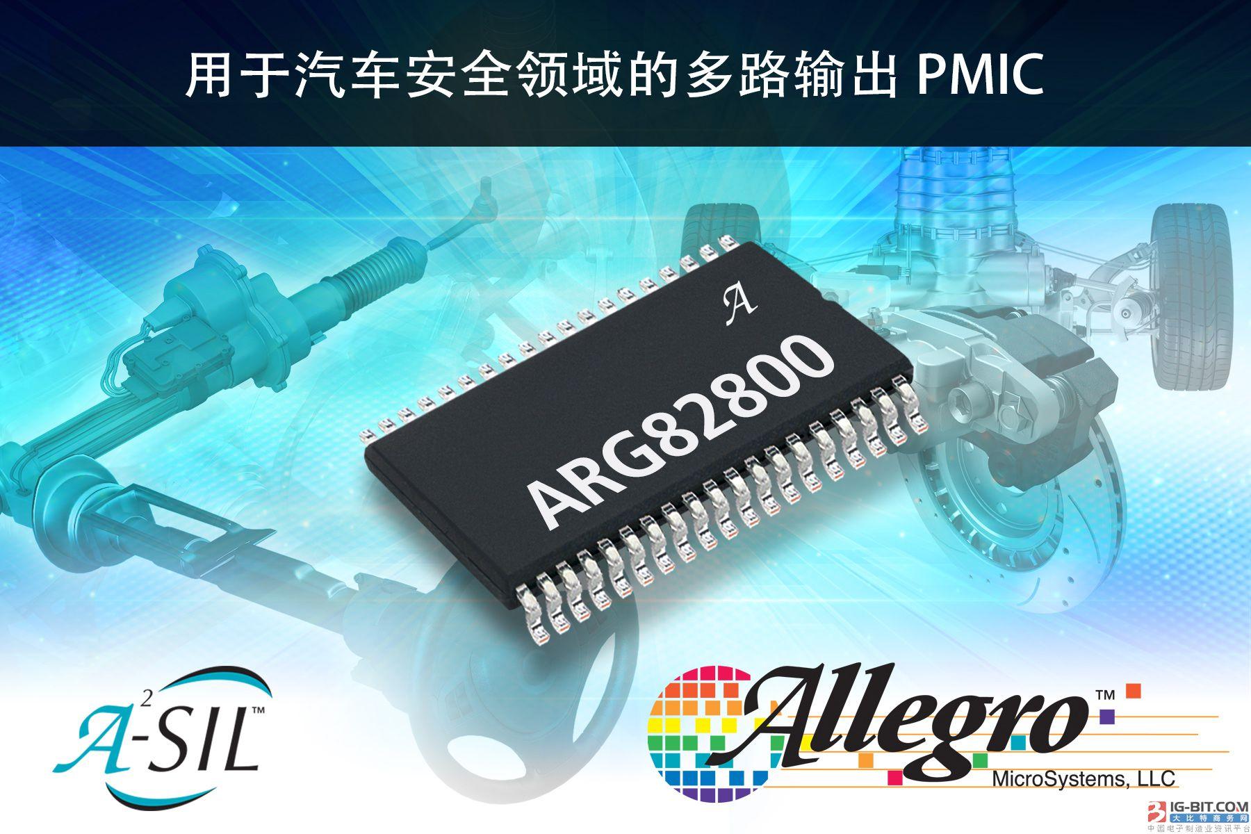 Allegro MicroSystems,LLC推出支持ISO 26262/ASIL-D的新型汽车控制单元电源管理IC