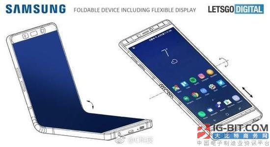 三星可折叠手机专利曝光 这也太酷炫了