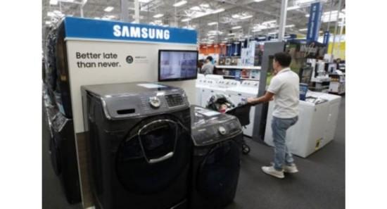 三星电子将在南卡罗来纳州纽贝里县启动首个洗衣机工厂