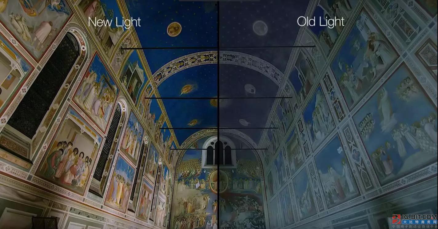 """联网照明让中世纪艺术品""""重生"""""""