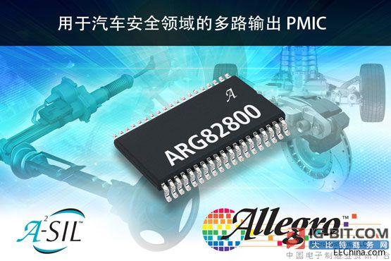 Allegro推出支持ISO 26262/ASIL-D的新型汽车控制单元电源管理IC
