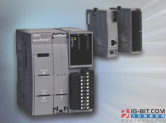 IDEC推出新款PLC产品MicroSmart FC6A Plus