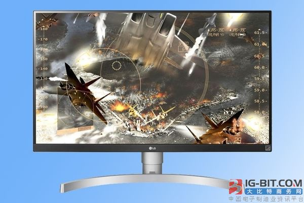 支持AMD FreeSync!LG新款显示器发布:4K分辨率