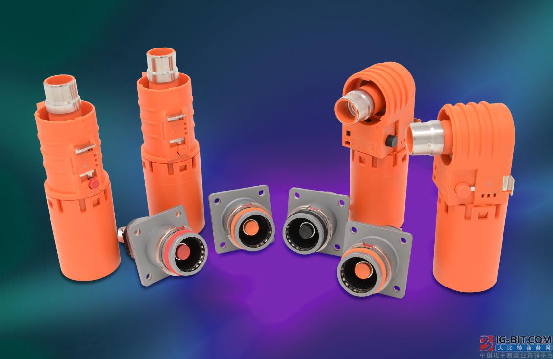 安费诺推出增强版SURLOK PLUS大电流连接器和电缆系统