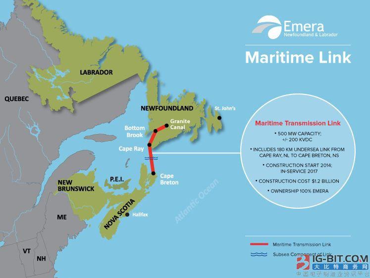 耐克森成功交付北美最长海底电力电缆