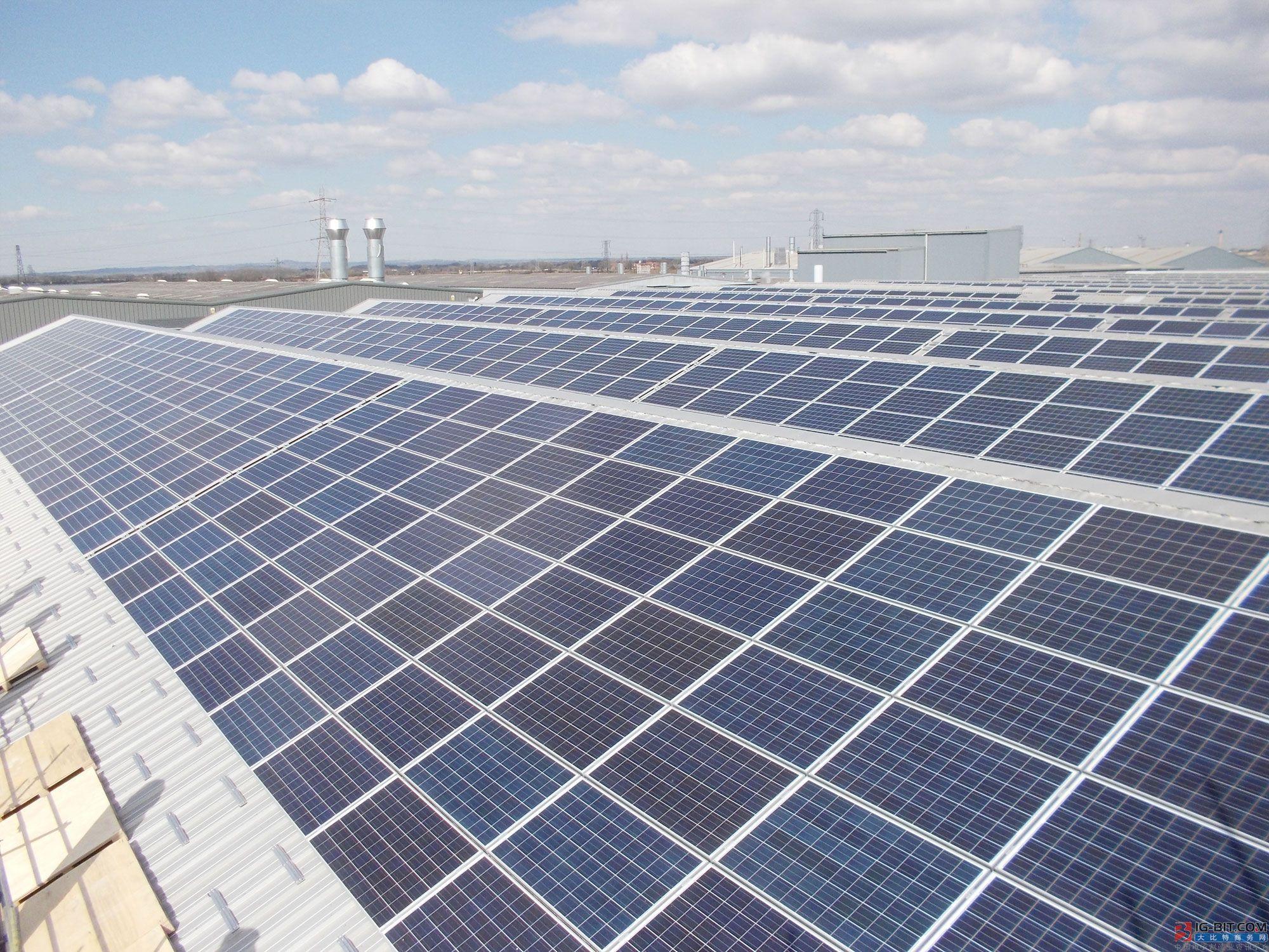 6吉瓦光伏装机 主要为屋顶太阳能图片