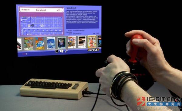 经典主机Commodore 64复刻迷你版3月29日发售