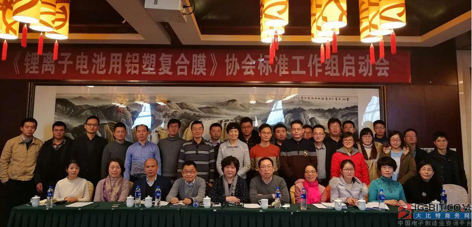 《锂离子电池用铝塑复合膜》协会标准工作组启动会在津召开
