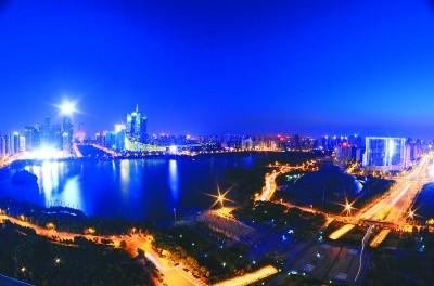 45个亮化项目勾勒合肥城市夜空