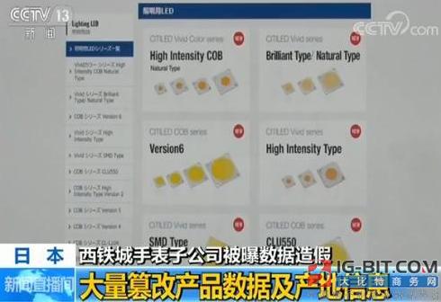 日本制造再出丑闻:西铁城被曝多项LED测试数据造假