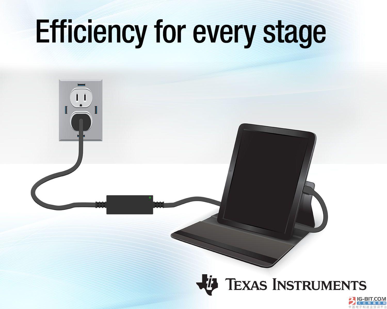 TI推出新款1MHz有源钳位反激式芯片组和业界首款6A三级降压电池充电器