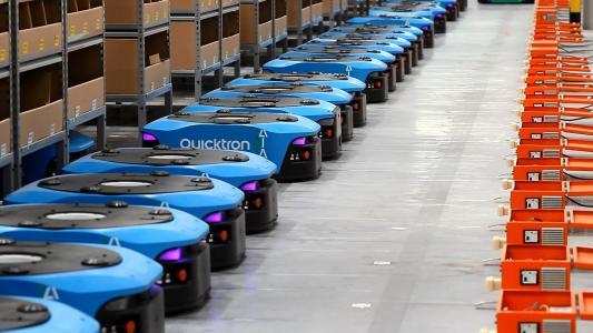 """自动化物流5年市场规模翻20倍 流线型电机推动企业""""速度之战"""""""