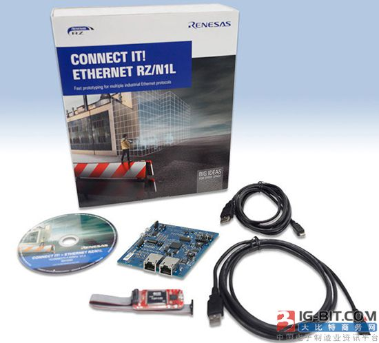 瑞萨推出面向远程IO及通信模块的RZ/N1L解决方案套件