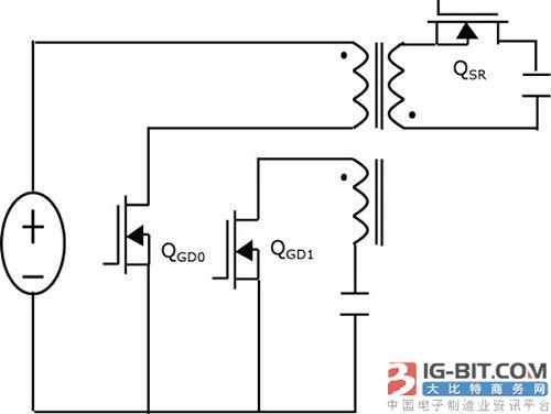 零电压切换返驰式转换器等效电路分析 图3为本文提出的零电压切换返