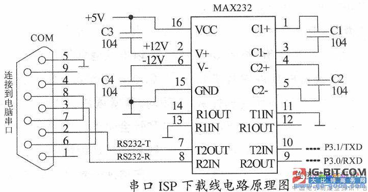 基于STC单片机的ISP下载线设计