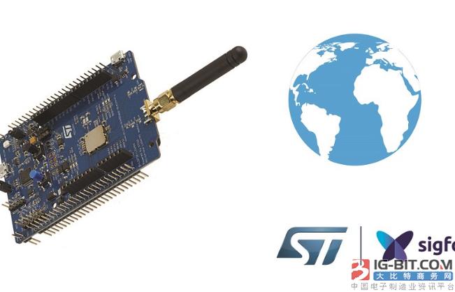 STM32微控制器支援Sigfox嵌入式软体