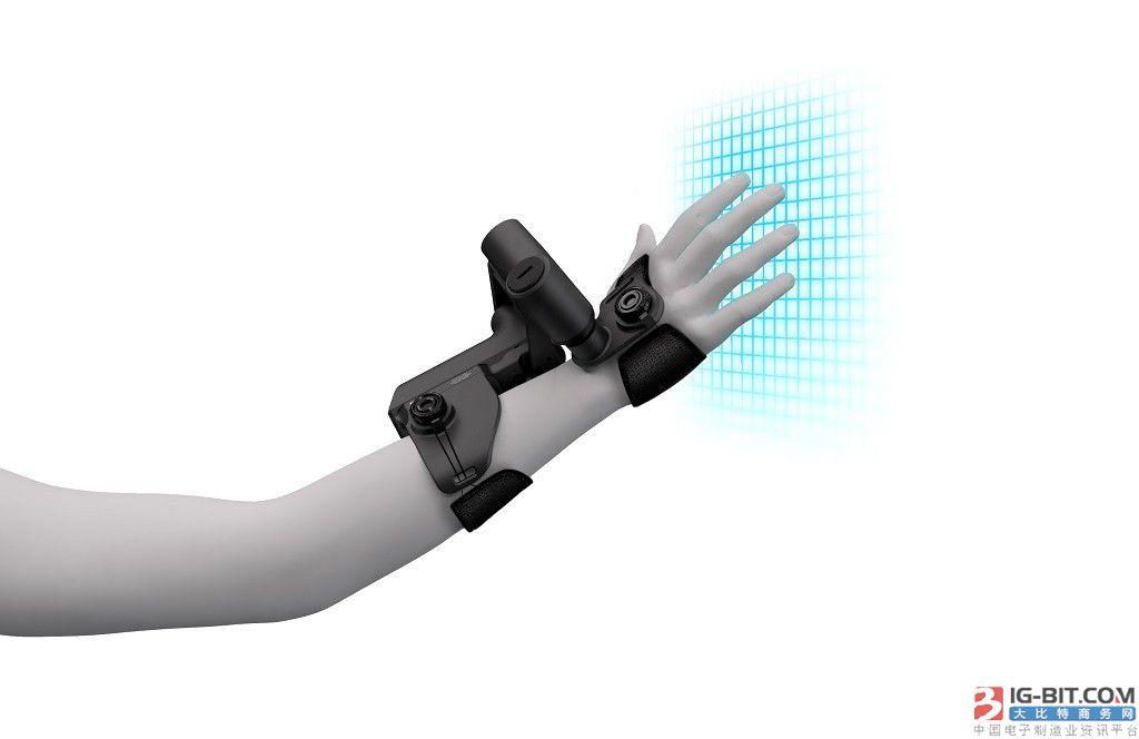 exiii推出EXOS触觉可穿戴设备